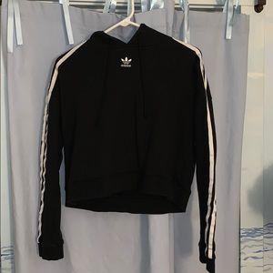 Women's Adidas Cropped Hoodie